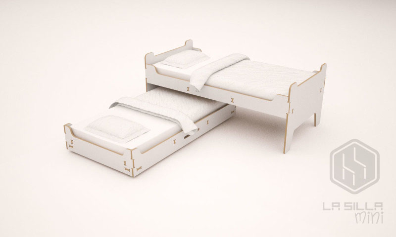 camas gemelas
